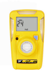 Honeywell BW Clip Gas Detectors H2S