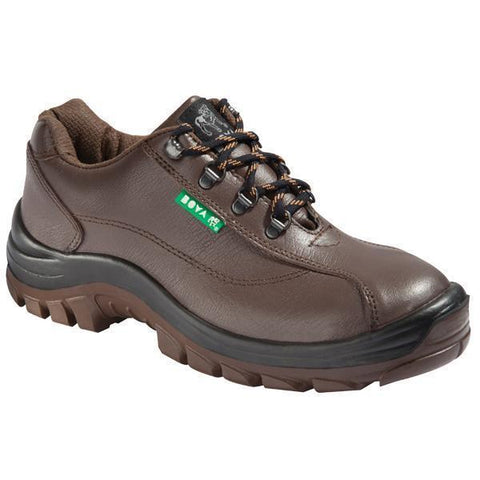 Bova Trainer Durable Safety Shoe - Walnut