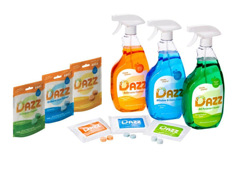 DAZZ Whole House Cleaner Tablet – Starter Kit