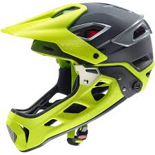 uvex jakkyl HDE Moutntain Bike Helmet - Mat Grey-Neon