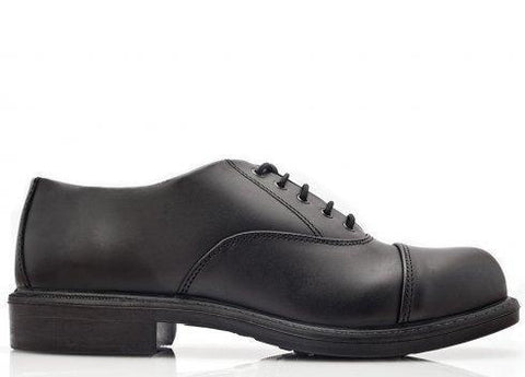 Bova Oxford Executive Safety Shoes - Black