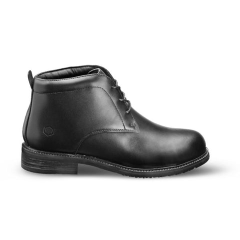 Bronx Chukka Black Formal Boot