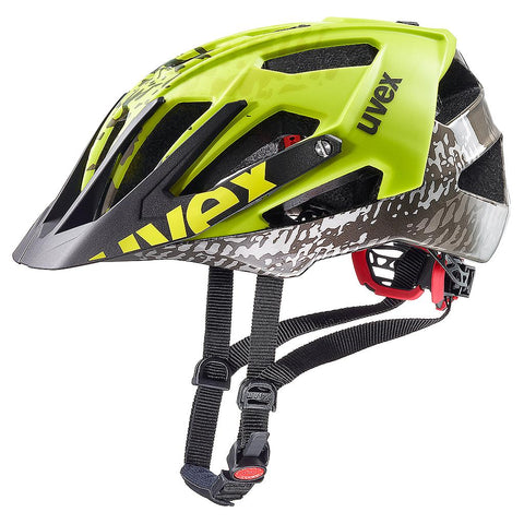 uvex quatro All-mountain Dirt-Neon-Yellow Cycling Helmet - 52-57/56-61