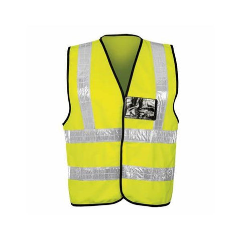 Barron Lime Contract PVC Waistcoat