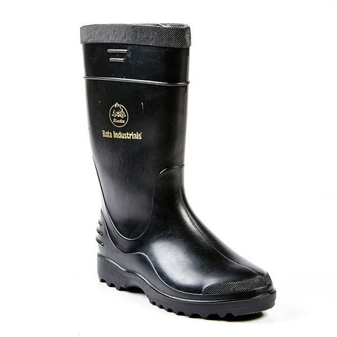 Bata Elegant Ladies Safety Gumboot - Black
