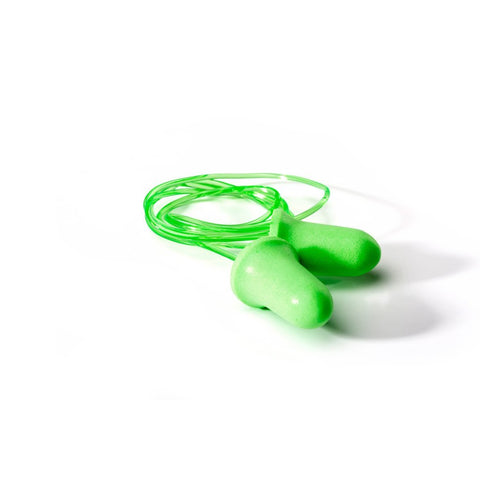 Dromex Disposable Foam Plugs (Corded) - Green