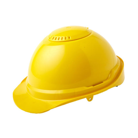 Nikki Industrial Hard Hat - Yellow