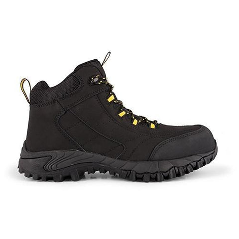 Rebel Black Expedition Hi Black Safety Boot