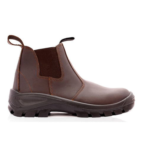 Bova Chelsea Durable Safety Boot - Brown