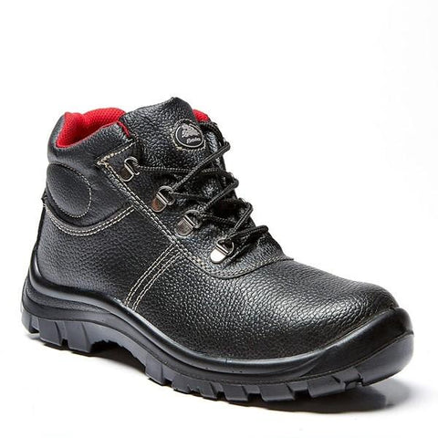 Bata Sabre Lace-up Safety Boot (Steel Toe) - Black