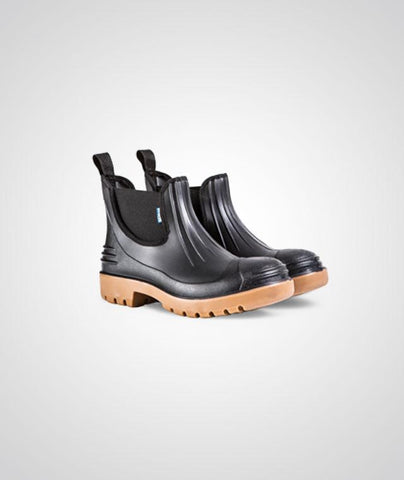 Wayne Chelsea 1506 Boot (Steel Toe) - Black-Toffee