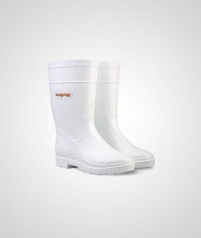 Wayne Duralight Ladies Gumboot - White