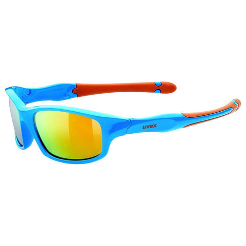 uvex sportstyle 507 blue/orange jr spectacle
