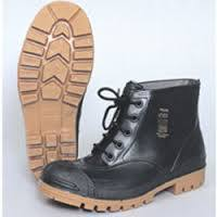 Wayne Miners SABS Gumboot (Non-steel Toe) - Black-Toffee