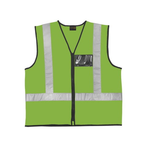 Barron Lumo Green Reflective Highway Waist Coat