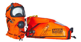 MSA Premaire Escape Breathing Device with premaire mask hood