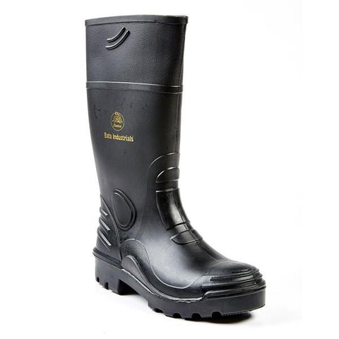 Bata Rhino 3 Safety Gumboot (Non-Steel Toe) - Black