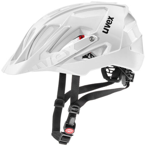 uvex quatro All-mountain Mat-White Cycling Helmet - 52-57/56-61