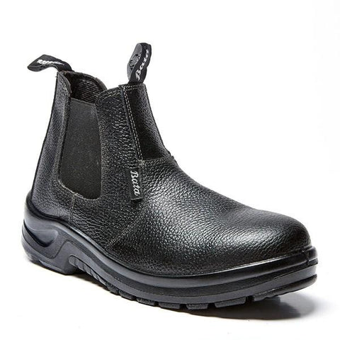Bata Chelsea Safety Boot (Steel Toe) - Black