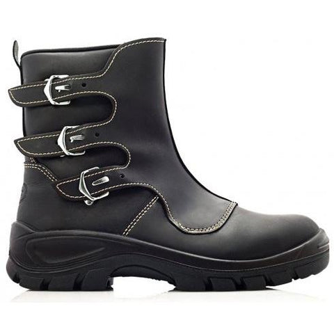 Bova Black SMELTERS BUCKLE Heat-resistant safety boot