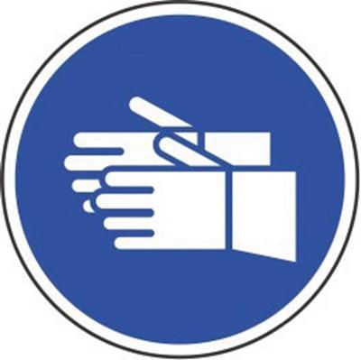 Signage - Hand Protection (290X290mm)