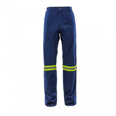 Bova TRI-REFLECT 65/35 Poly Cotton Navy Blue Work Trousers