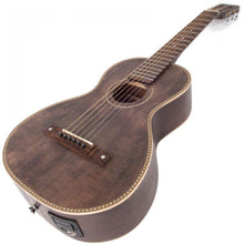 Load image into Gallery viewer, Vintage Viator Paul Brett Electro-Acoustic Travel Guitar Antiqued (mikki/USB)