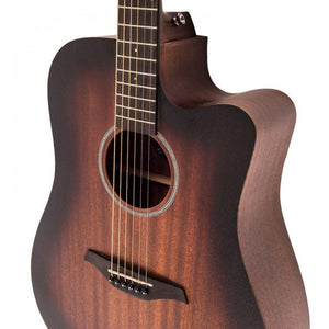 Vintage VE440WK Statesboro Dreadnought Electro-Acoustic Guitar Whisky Sour - Soundstore Finland