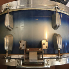 Load image into Gallery viewer, Slingerland 14x7 Radio King Student Blue/Silver Duco 3-Ply
