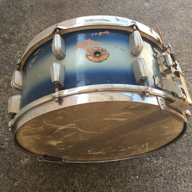 Slingerland 14x7 Radio King Student Blue/Silver Duco 3-Ply