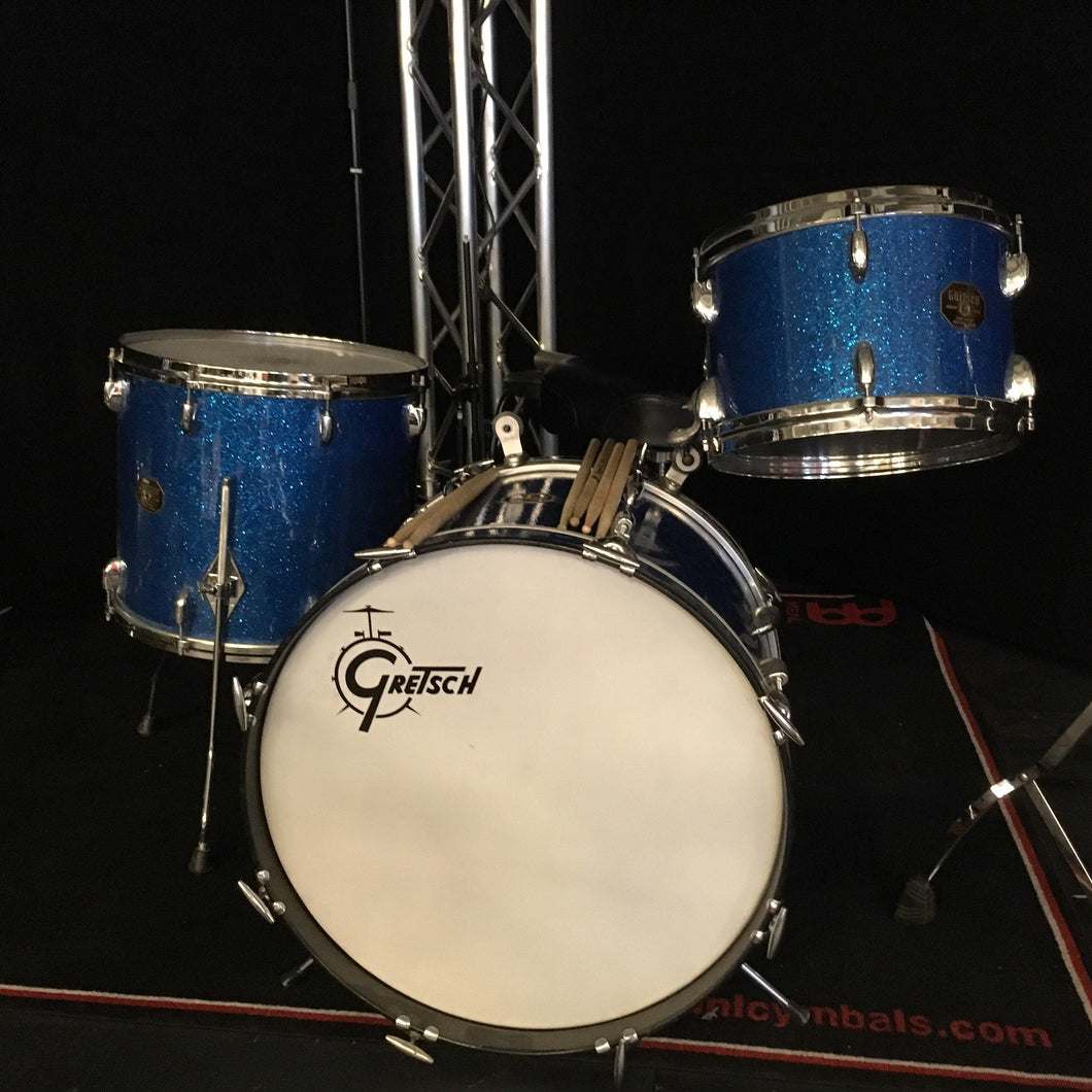 Gretsch 1970s Stop Sign 20/12/16 Blue Glitter