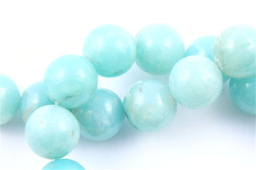 Amazonite, 12mm, Round Shape Beads