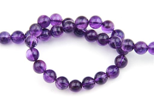 Amethyst (AA), 10mm, Round Shape Beads