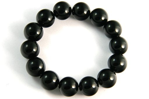 Black Onyx, 14mm, Round Shape Beads