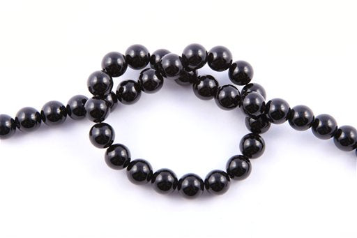 Black Onyx, 10mm, Round Shape Beads