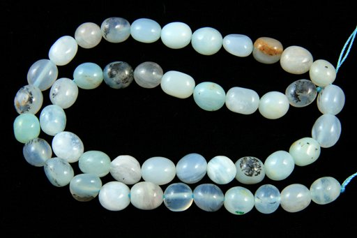 Blue Opal, 8x10mm, Nugget Shape Beads