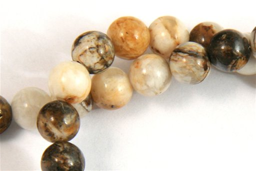 Brioche Jasper, 6mm, Round Shape Beads