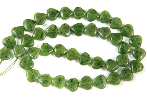 British Columbia Jade, 10mm, Trillion Shape Beads
