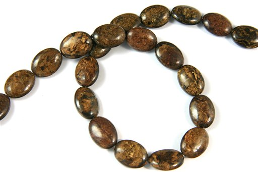 Bronzite, 13x18mm, Oval Shape Beads