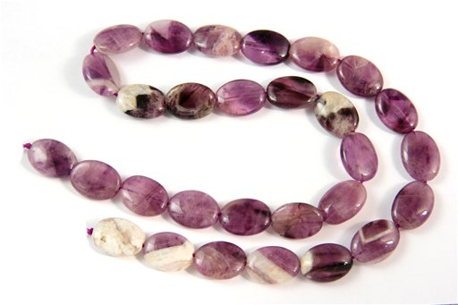 Cape Amethyst, 10x14mm, Oval Shape Beads