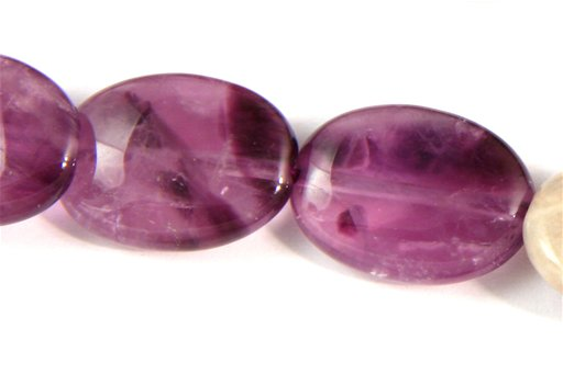 Cape Amethyst, 12x16mm, Oval Shape Beads