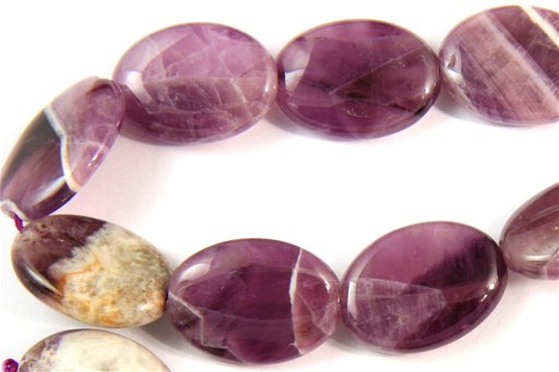 Cape Amethyst, 13x18mm, Oval Shape Beads