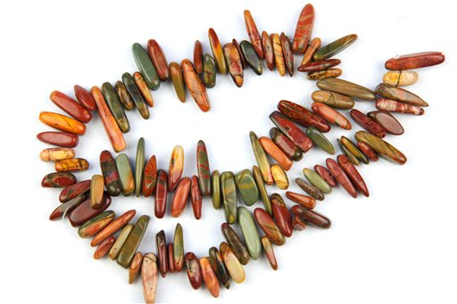 China Picasso Jasper, 10-25mm, Irregular Spices Shape Beads