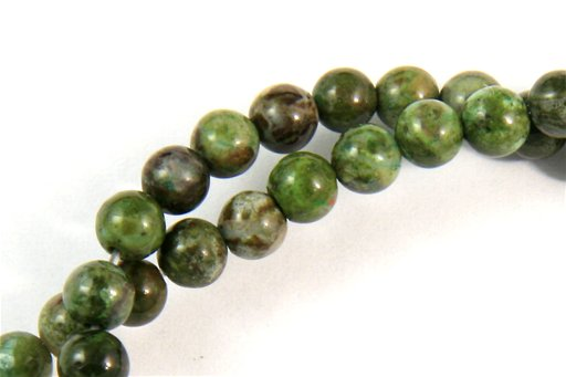 Copper Jasper, 4mm, Round Shape Beads