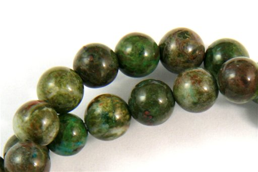 Copper Jasper, 6mm, Round Shape Beads