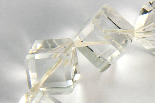Crystal, 12mm, Cube Shape Beads
