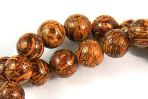 Elephant Jasper, 6mm, Round Shape Beads