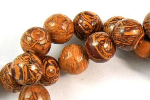 Elephant Jasper, 8mm, Round Shape Beads