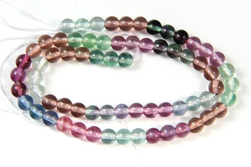 Fluorite (AA), 6mm, Round Shape Beads