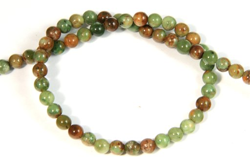 Green Opal, 4mm, Round Shape Beads